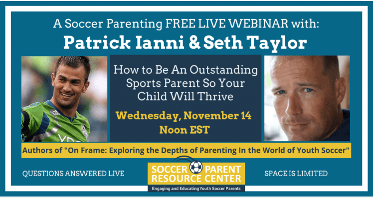 Patrick Ianni and Seth Taylor Webinar Registration Form
